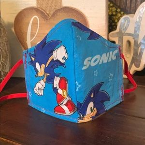 Sonic Print Face Mask